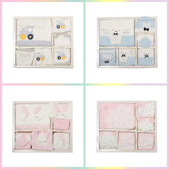 Set complet pentru bebeluși antialergic 10 piese Gaye