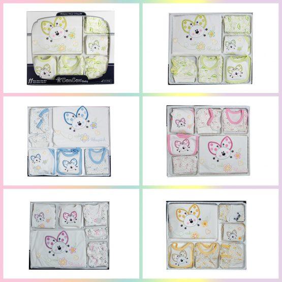Set complet bebeluși 0-3 luni Concon 11 piese