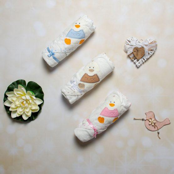 Prosop de băiță pentru bebeluși Aylin Duck