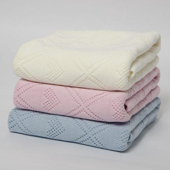 Pled tricotat de bebeluși ERSIN